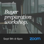 Buyer Preparation Seminar - September 9th