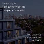 Pre-Construction Preview Seminar - April 20th